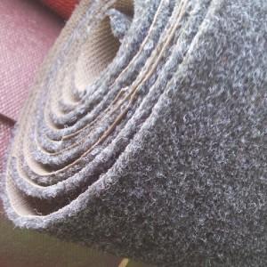 拉绒橡胶底地垫车用船用防滑垫地毯卷材0.9m宽1.2m宽7mm厚