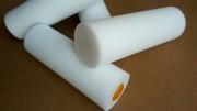 4寸单圆海绵滚筒刷单头修高密度边滚刷油漆刷